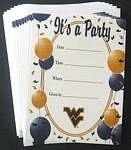 West Virginia Mountaineers Party Invitations