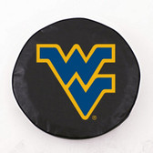 West Virginia Mountaineers Black Tire Cover, Large