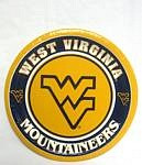 "West Virginia Mountaineers 7"" Dessert Paper Plates"