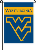 West Virginia Mountaineers 2-Sided Garden Flag Set w/ #11213 Garden Pole