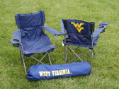 West Virginia Mounatineers Junior Tailgate Chair
