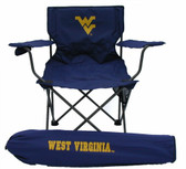 West Virginia Mounatineers Adult Tailgate Chair