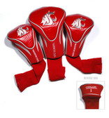 Washington State Cougars 3 Pack Contour Sock Headcovers