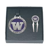 Washington Huskies Golf Gift Set