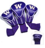 Washington Huskies 3 Pack Contour Sock Headcovers