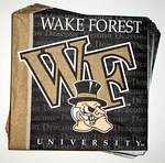 Wake Forest Demon Deacons Lunch Napkins