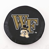 Wake Forest Demon Deacons Black Tire Cover, Small