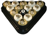 Wake Forest Demon Deacons Billiard Ball Set