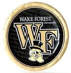"Wake Forest Demon Deacons 9"" Dinner Paper Plates"