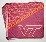 Virginia Tech Hokies Beverage Napkins