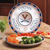 Virginia Cavaliers Ceramic Chip n Dip Server