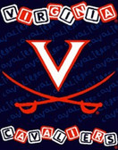 "Virginia Cavaliers 36""x48"" Woven Baby Throw Blanket"