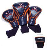 Virginia Cavaliers 3 Pack Contour Sock Headcovers