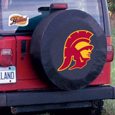 USC Trojans Black Tire Cover, Large