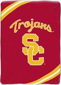 "USC Trojans 60""x80"" Royal Plush Raschel Throw Blanket"