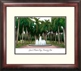 University of Miami Alumnus Framed Lithograph