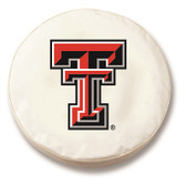 Texas Tech Red Raiders White Tire Cover, Large