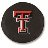 Texas Tech Red Raiders Black Tire Cover, Large