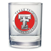 Texas Tech Red Raiders  Double Old Fashioned Glass Set