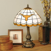 Texas Longhorns Tiffany Table Lamp