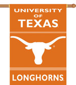 "Texas Longhorns 2-Sided 28"" x 40"" Banner w/ Pole Sleeve"