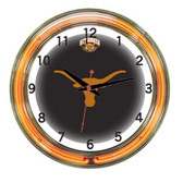 "Texas Longhorns 18"" Neon Wall Clock"