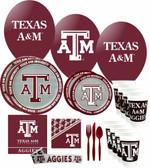 Texas A&M Aggies Party Supplies Pack #3