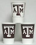 Texas A&M Aggies 16 oz Cups