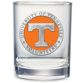 Tennessee Volunteers Double Old Fashioned Glass Set