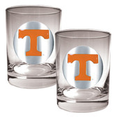 Tennessee Volunteers 2pc Rocks Glass Set