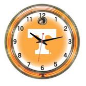 """Tennessee Volunteers 18"""" Neon Wall Clock"""