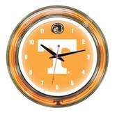 """Tennessee Volunteers 14"""" Neon Wall Clock"""