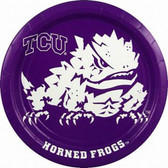 "TCU Horned Frogs 9"" Paper Plates"