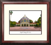 Stanford University Alumnus Framed Lithograph