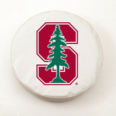 Stanford Cardinals White Tire Cover, Large