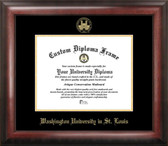 Southern Miss Golden Eagles Gold Embossed Diploma Frame