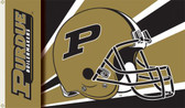 Purdue Boilermakers 3 Ft. x 5 Ft. Flag w/Grommets - Helmet Design