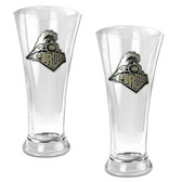Purdue Boilermakers 2pc Premiere Pilsner Glass Set