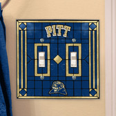 Pittsburgh Panthers Double Lightswitch Cover