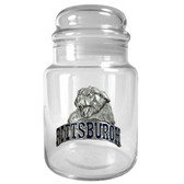 Pittsburgh Panthers 31oz Glass Candy Jar - Primary Logo