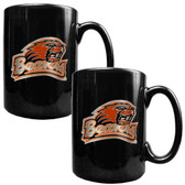Oregon State Beavers 2pc Coffee Mug Set