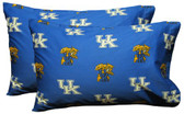 Kentucky Printed Pillow Case - (Set of 2) - Solid