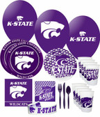 Kansas State Wildcats Party Supplies Pack #3