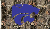 Kansas State Wildcats  3 Ft. x 5 Ft. Flag w/Grommets - Realtree Camo Background