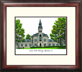 Kansas State University Alumnus Framed Lithograph