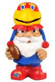 Kansas Jayhawks Mad Hatter Gnome