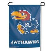 "Kansas Jayhawks 11""x15"" Garden Flag"
