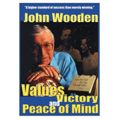 John Wooden - Values, Victory and Peace of Mind DVD