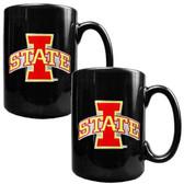 Iowa State Cyclones 2pc Coffee Mug Set