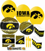 Iowa Hawkeyes Party Supplies Pack #3